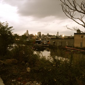 View of Gowanus Canal from 6th street and 2nd ave
